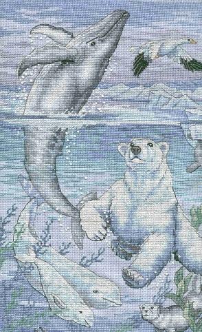 Dimensions 35001 Arctic antics