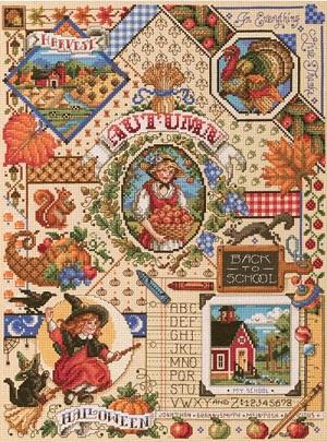 Janlynn 023-0243  Autumn sampler
