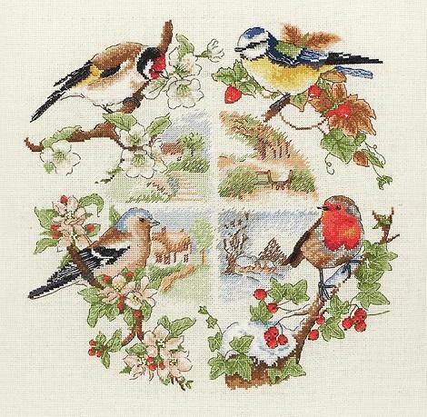 Anchor/Maia PCE880 Birds and Seasons