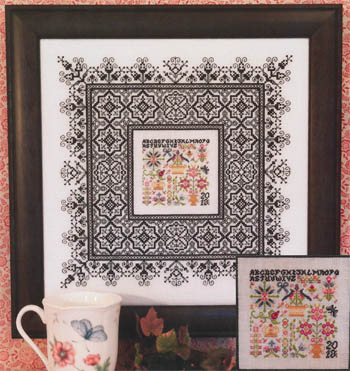 Rosewood Manor Black lace sampler