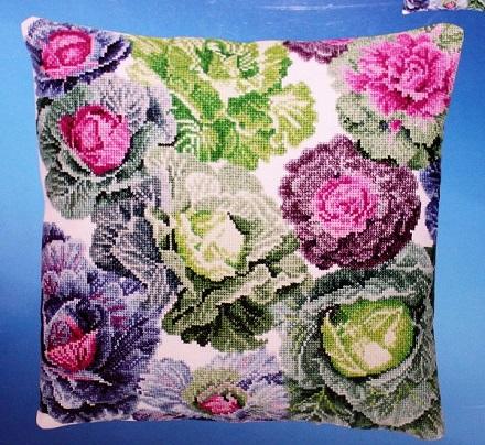 Janlynn 178-0500 Cabbages Pillow Top