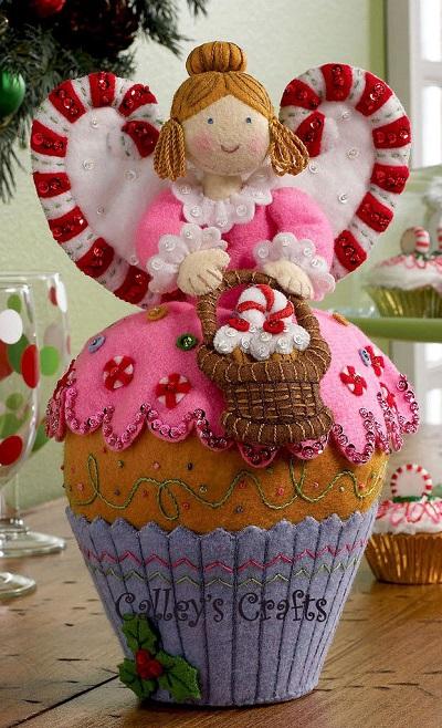 Bucilla 86209 Cupcake Angel