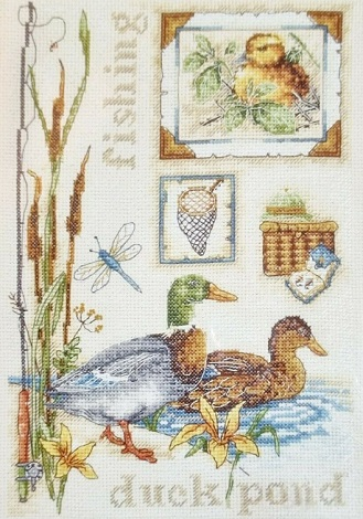 Anchor/Fleur de Lis Duck Pond