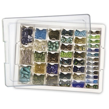 Assorted bead tray -45