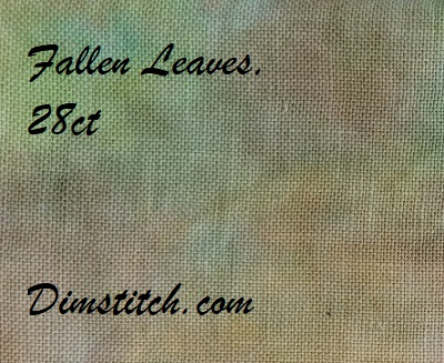 Polstitches Fallen Leaves 28ct