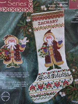 Janlynn 93-333 Good tidings stocking