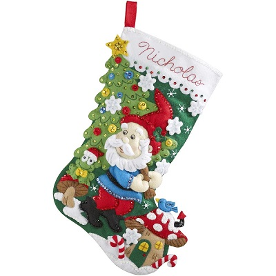Bucilla 86557 Gnome stocking