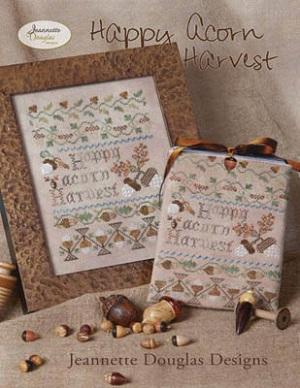 Jeannette Douglas Designs Happy acorn harvest