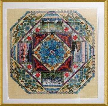 Chatelaine CHAT076 Hawaiian Garden Mandala
