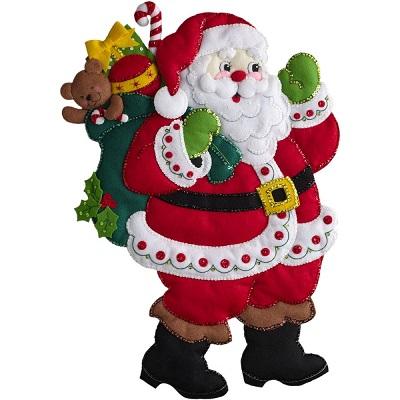 Bucilla 86737 Here comes Santa