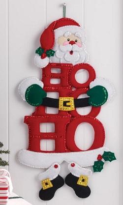 Bucilla 86421 Ho ho ho Santa