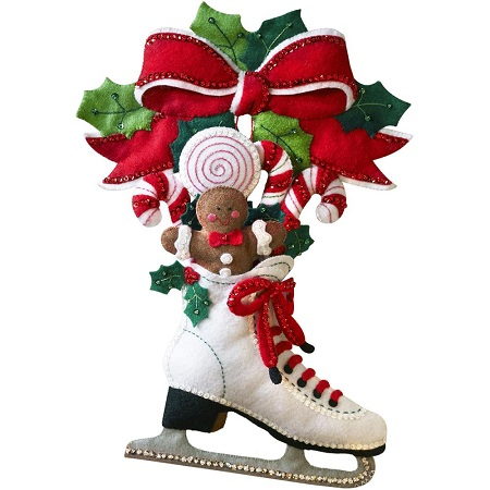 Bucilla 86676 Holiday skate