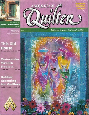 American QUILTER Magazine - Spring 2003
