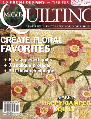 McCall's Quilting Magazine - Apr 2004