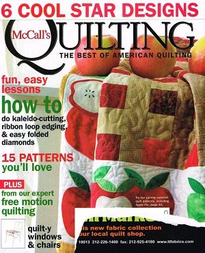 McCall's QUIILTING Magazine - Aug 09