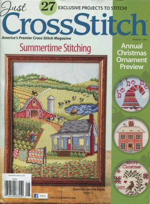 Summertime Stitching-Just Cross-Stitch July/August 2015