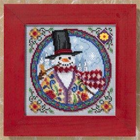 Mill Hill JS149103 Eastern Snowman