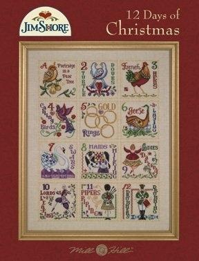 Jim Shore JSP005 12 Days Of Christmas