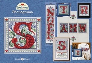 Jim Shore Publications JSP007 Monograms