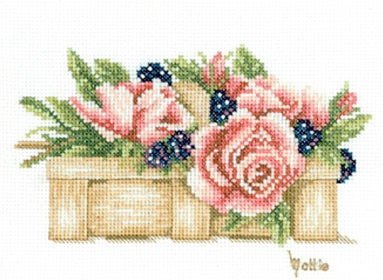 Lanarte PN8200 Basket Full of Roses