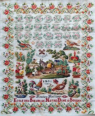 Reflets de Soie Louise Lallier 1901