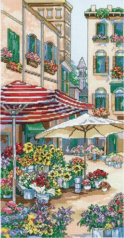 Janlynn 23-0618 Flower market