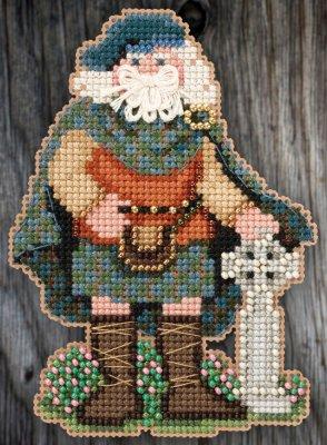 Mill Hill MH205301 Celtic Scotland Santa