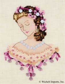 Nora Corbet Portrait of Caroline in Pink NC104