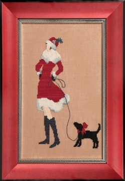 Nora Corbet Red Puppy -  Red Ladies Collection NC175