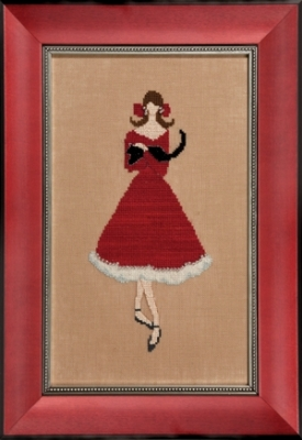 Nora Corbet Red Kitten -  Red Ladies Collection NC176