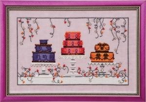 Nora Corbet NC182 Garden Party Cakes