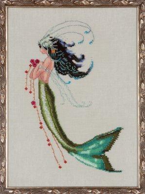 Nora Corbett NC192 Mermaid Verde La Petite Mermaids Collection