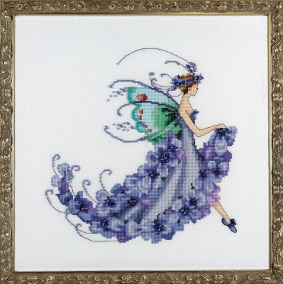 Nora Corbet NC199 Wisteria  Pixie Blossom Collection