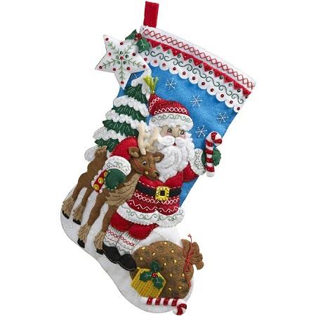 Bucilla 86647 Nordic Santa