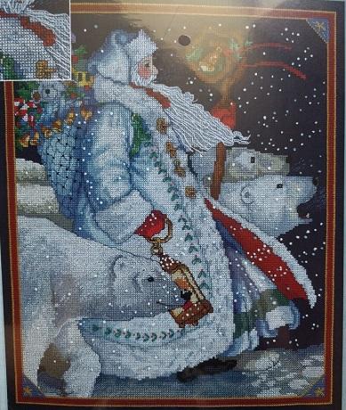 Janlynn 351990 Polar bear santa