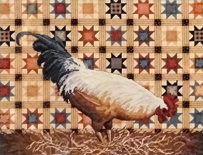 Dimensions 35095 Patchwork rooster