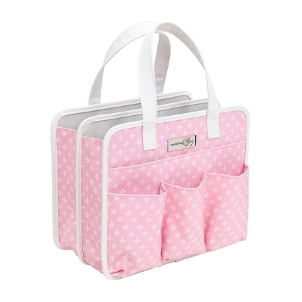 Pink Travel tote