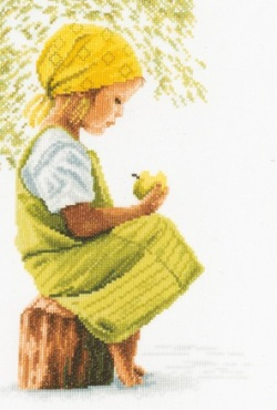Lanarte PN-0021213 Girl with apple