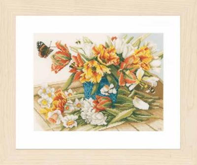 Lanarte PN154325 Daffodils-Tulips