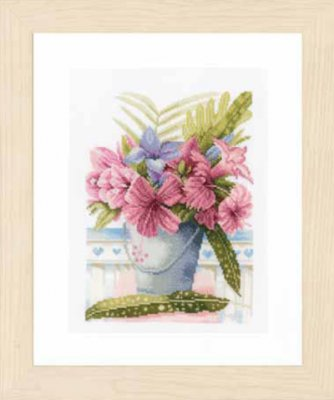 Lanarte PN154327 Flowers in Bucket