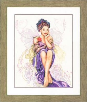 Lanarte PN150005 Purple Butterfly Girl