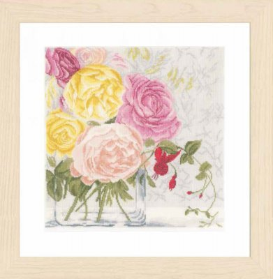 Lanarte PN155030 Pastel Flowers