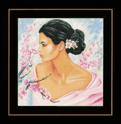 Lanarte PN155690 Lady with Blossoms