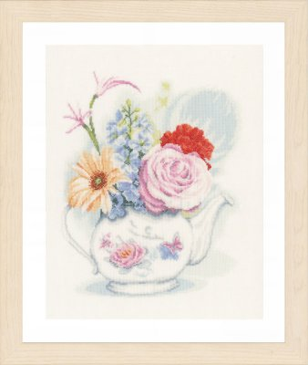 Lanarte PN155692 Flowers in teapot