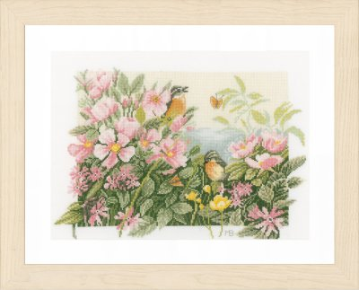 Lanarte PN157494 Birds and Roses