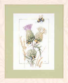 Lanarte PN21621 Thistle Bees by Marjolein Bastin