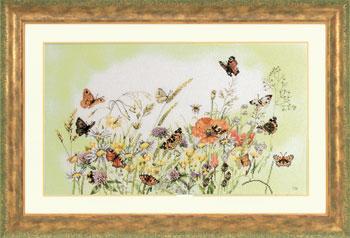 Lanarte PN7967 Flowers Butterfly