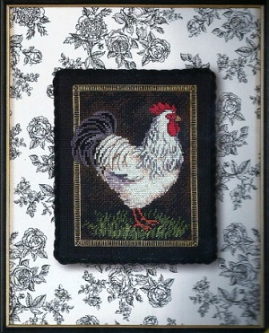 Dimensions 35074 Rooster on Toile
