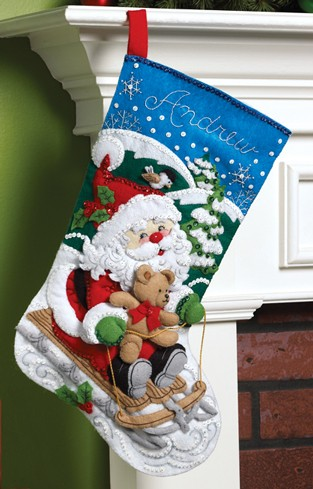 Bucilla 86279 Santa's Sled
