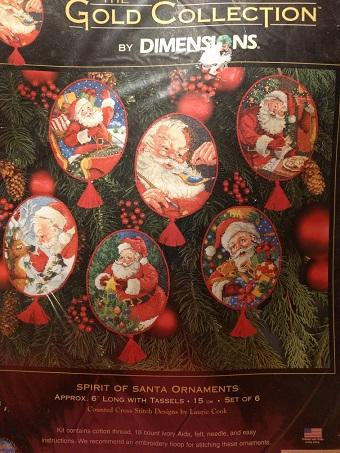 Dimensions 08755 Spirit of Santa